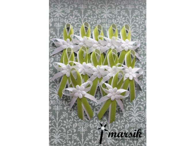 Vývazek GREEN FLOWERS