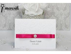 Svatební oznámení FUCHSIA FLOWERS