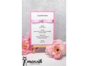 Svatební menu PINK