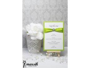 Svatební menu LUXURY GREEN